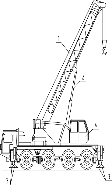 Самоходные строительные краны – автомобильный кран ЛТМ 1050-4 повышенной проходимости:
