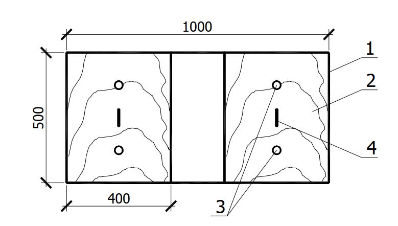 Шаблон для разметки мест установки анкеров-кронштейнов