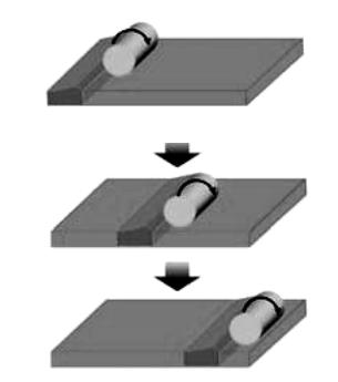 Схема конвейерного транспорта на поверхности автоколебательного геля