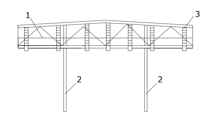 Схема обустройства металлической фермы