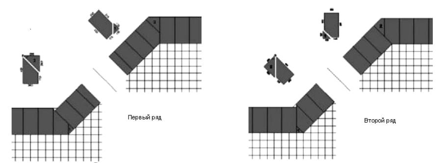 Широкий внешний и внутренний углы наружных стен (эркер)