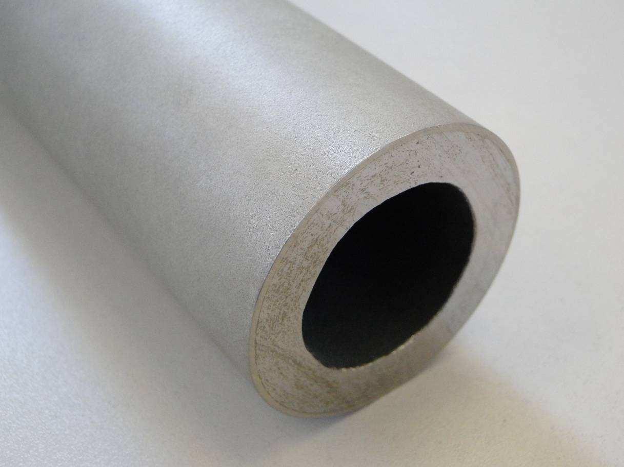 Стальная труба пароперегревателя мусоросжигательной установки с толстым коррозионнозащитным покрытием из Metco 12C