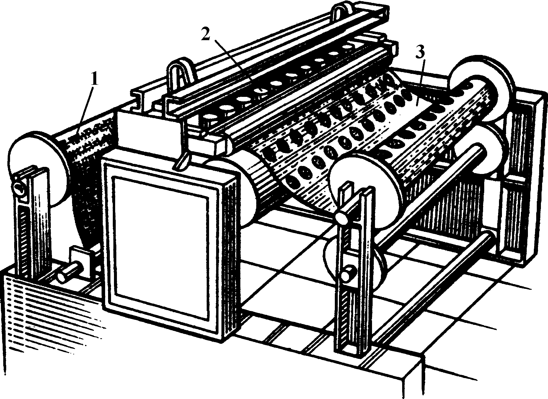 Станок для перфорации рубероида