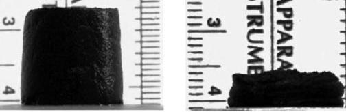 Сжатие пористого феррогеля магнитным полем