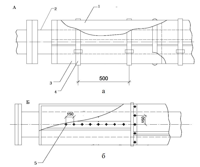 Тепловая изоляция трубопровода цилиндрами