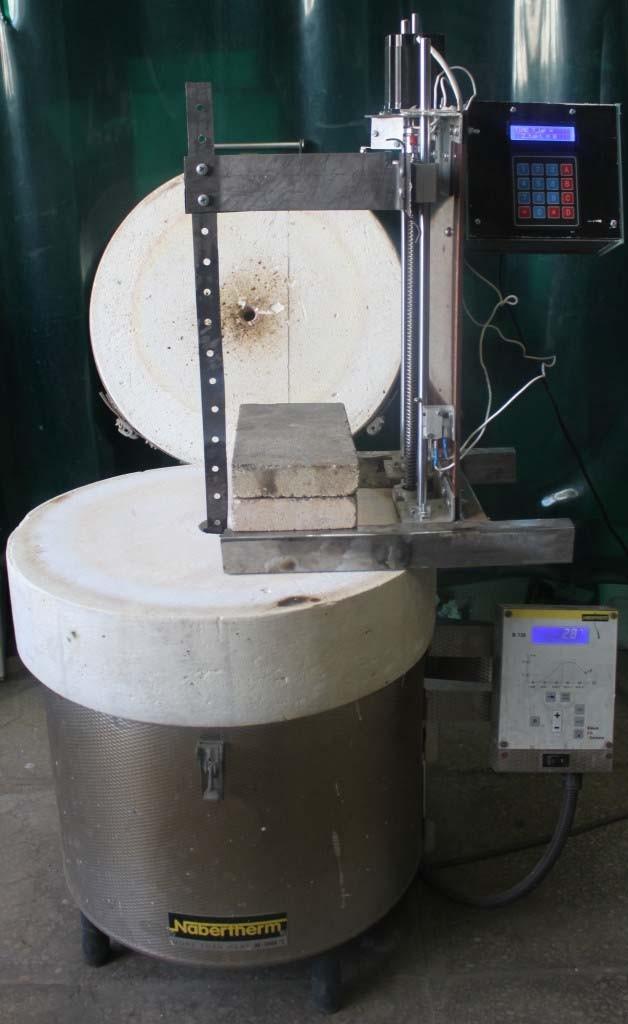 установка для определения эрозионной стойкости наплавленных покрытий
