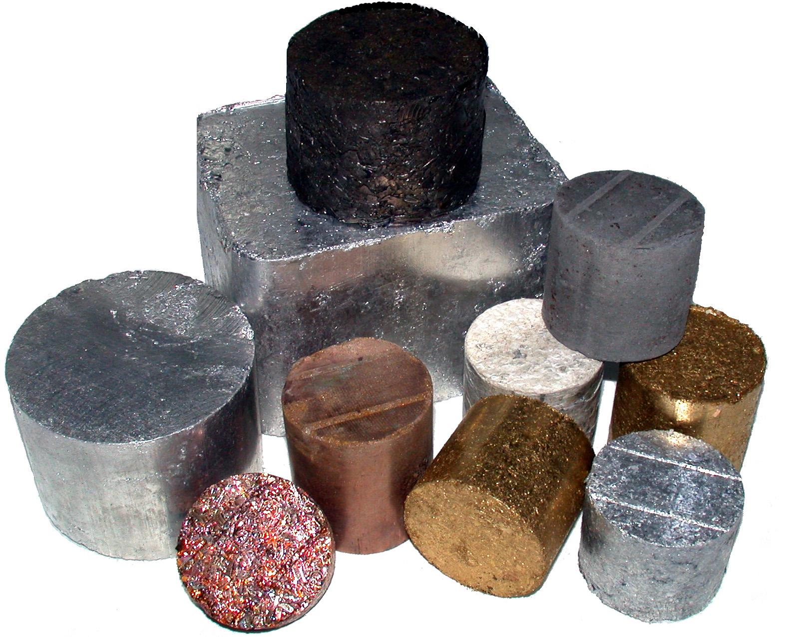 материалы - металлы и сплавы