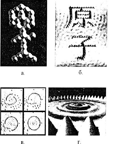 Атомарный дизайн, выполненный в сканирующем микроскопе