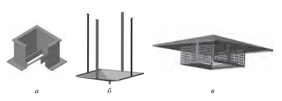 Элементы монтажа вентиляторов