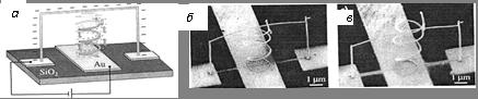 Переключатель на нанопроволоках