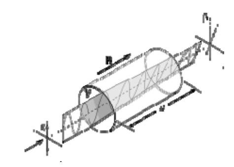 Вращение плоскости поляризации света за счет эффекта Фарадея