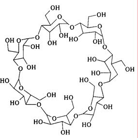 Структура β-циклодекстрина