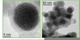 TEM-изображения магнитных наночастиц