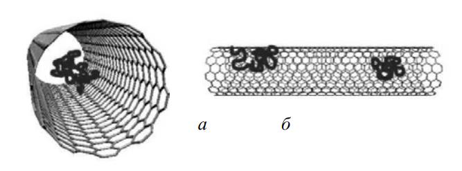 Механизмы взаимодействия нанотрубок и лекарственных веществ
