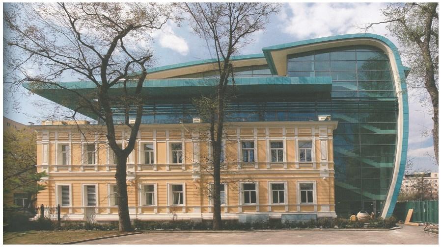 Здание Союза архитекторов России (фасад)