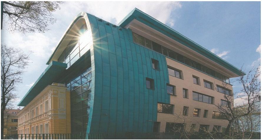 Здание Союза архитекторов России (вид с северной стороны)