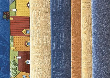 Цветовые решения ковролина