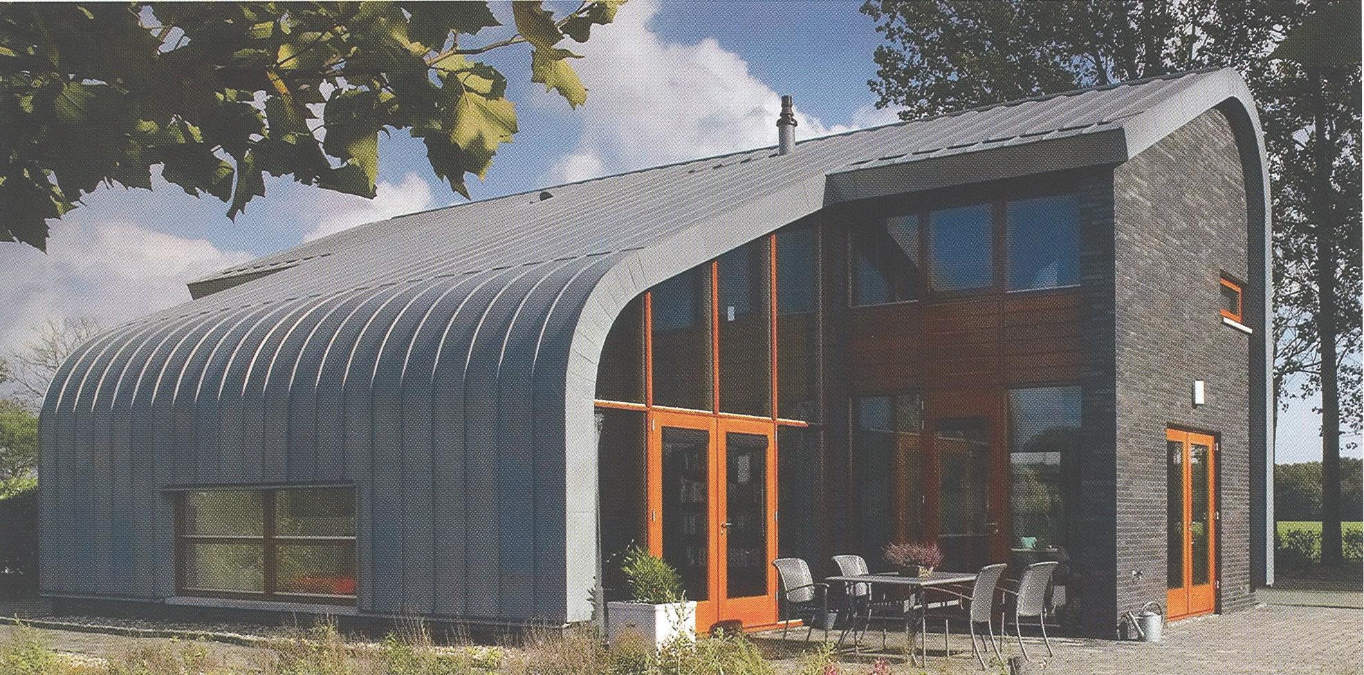 Дом в г. Дуурстеде (Нидерланды) с титано-цинковой облицовкой