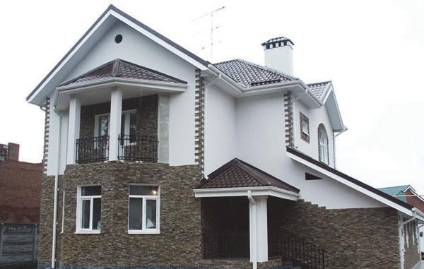 Фасад «мокрого» типа