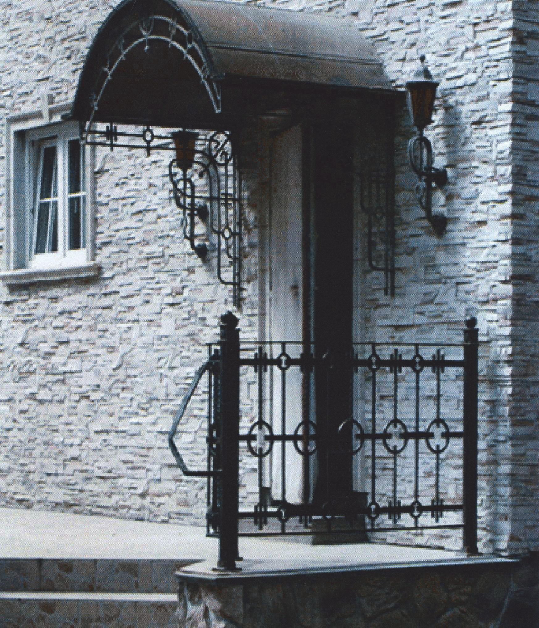 Фрагмент фасада с применением искусственного камня