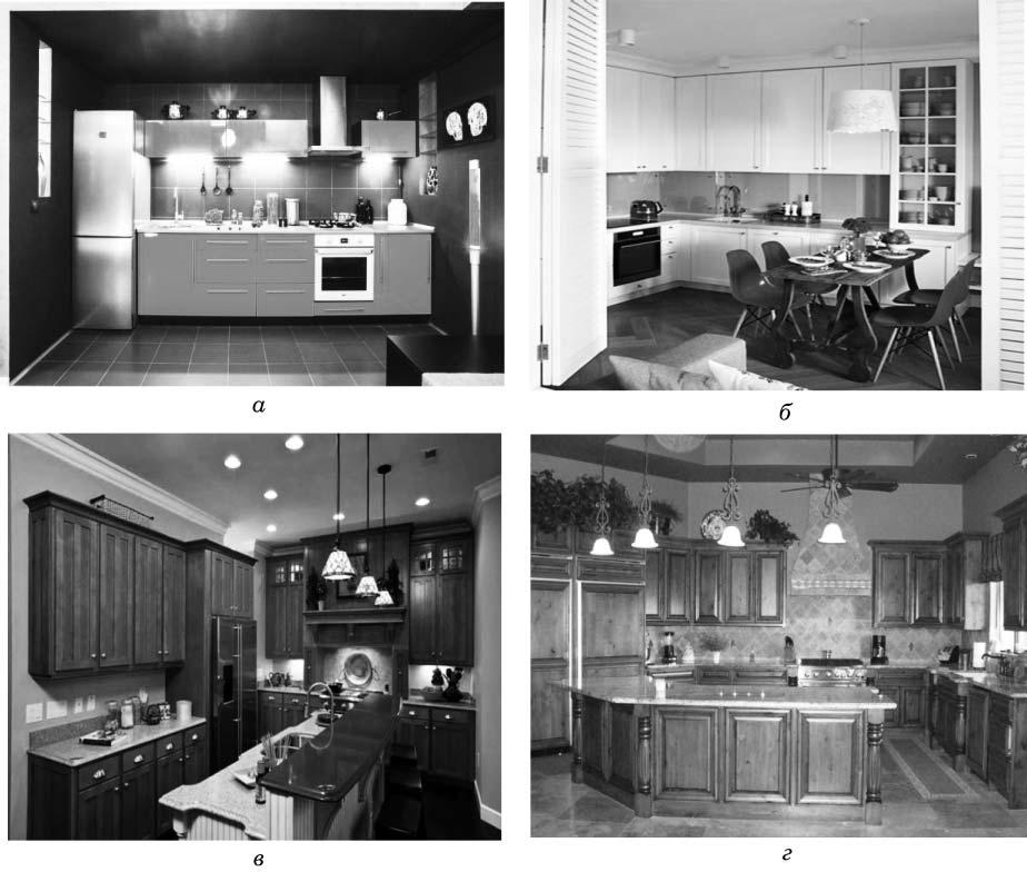 Фрагменты интерьера кухни