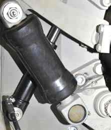 Гидроцилиндр прижима короснимателя