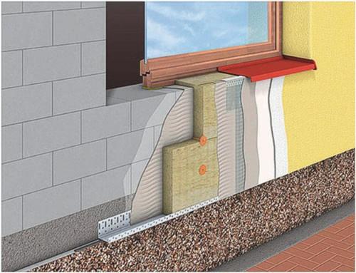 Готовая система «мокрый фасад»