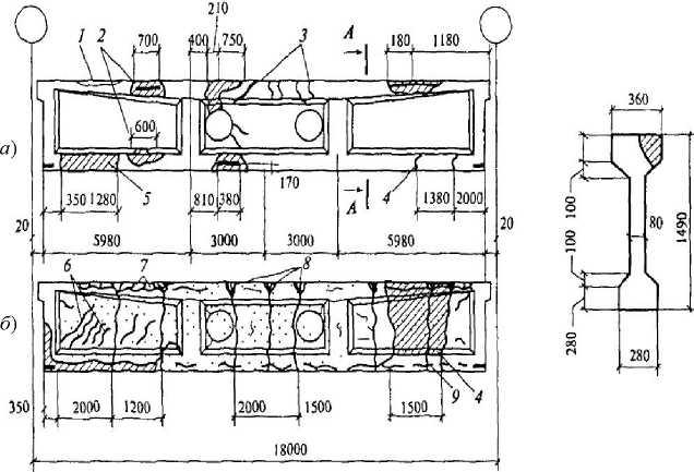 Картирование повреждений железобетонных конструкций