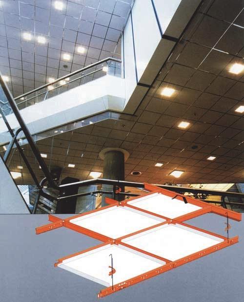 Кассетные потолки из стекловолокна СHICAGO METALLIC