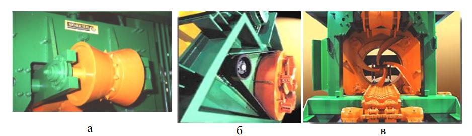 Конструктивные элементы станков Nicholson А1