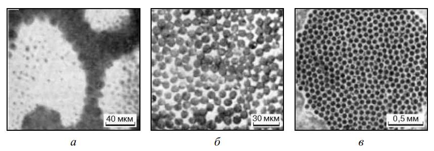Микроструктура различных композиционных материалов