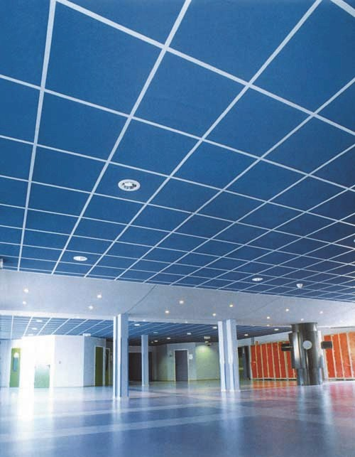 Минераловолокнистые подвесные потолки AMF