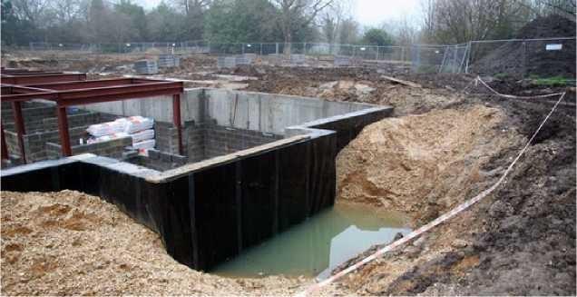 Неправильный отвод грунтовых вод