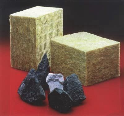 Образцы минераловатных изделий из горных пород