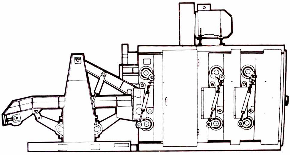 Опытный образец головного станка гаммы нового поколения с гидроприводом механизма подачи ОК63-3