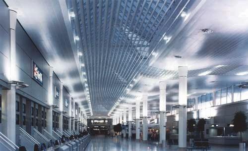 Панельные металлические потолки HUNTER DOUGLAS
