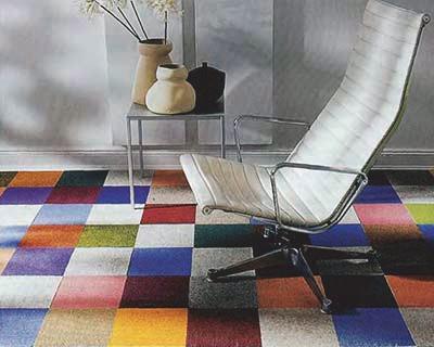 Покрытие пола ковровой плиткой