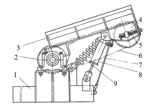 Приемное устройство станков 2ОК80-1, ОК80-2