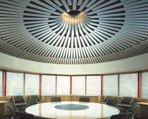 Реечные подвесные потолки HUNTER DOUGLAS 2