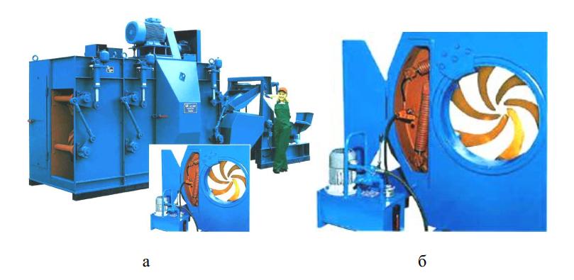 Регулировка давления в гидрофицированном роторе станка VK26SMX