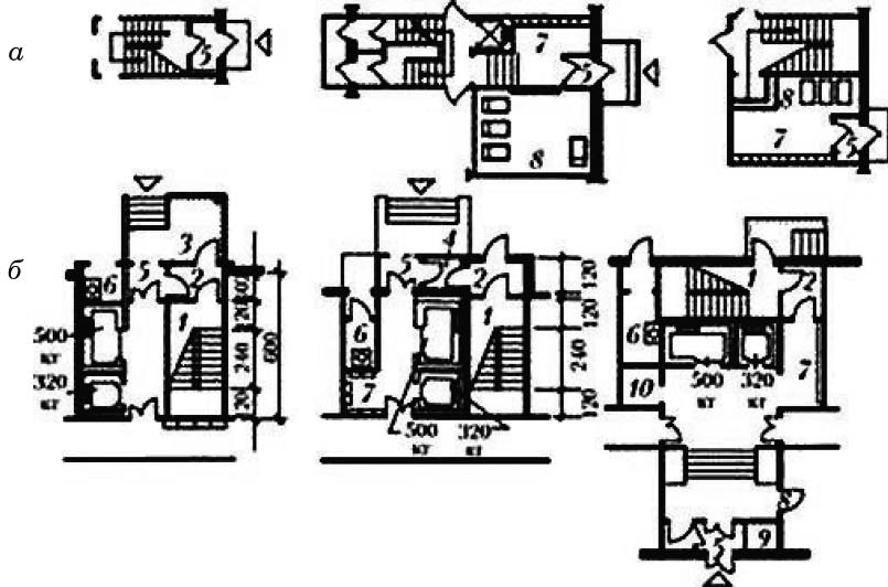 Решение входных узлов в жилые здания
