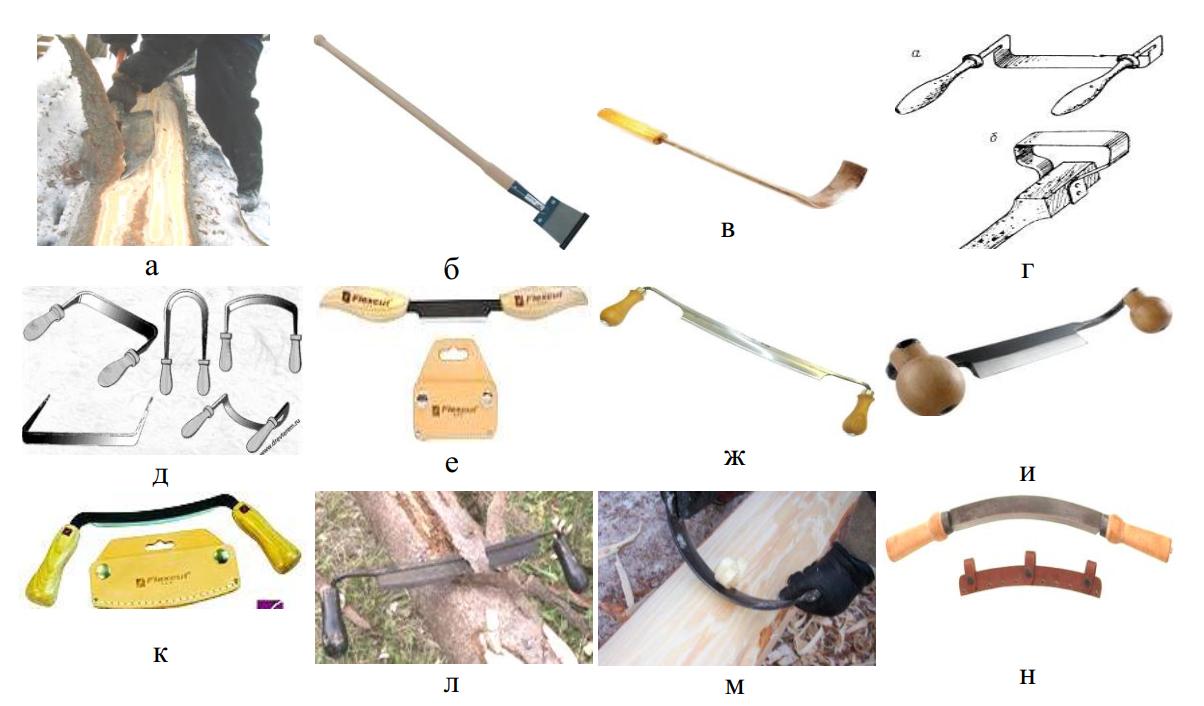 Ручной инструмент для окорки
