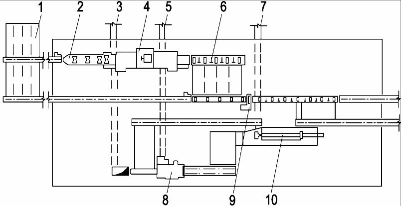 Схема цеха подготовки круглых и колотых балансов