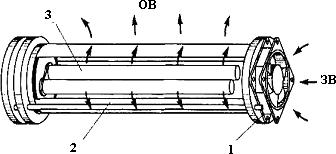 Схема фотокаталитического очистителя воздуха
