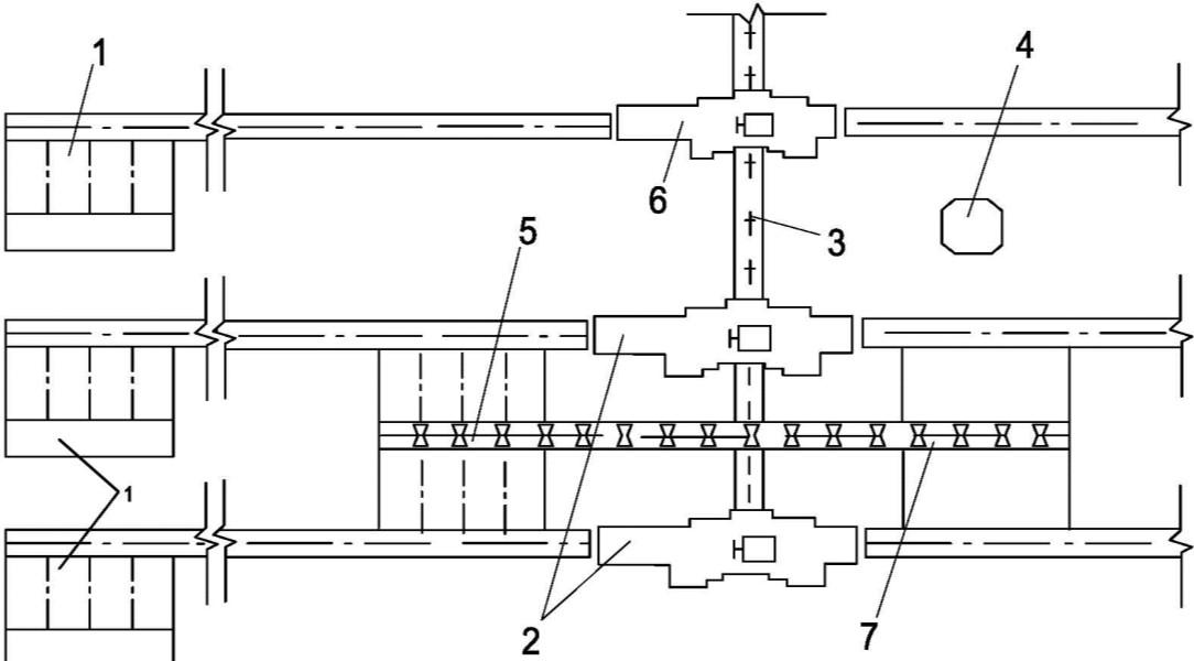 схема окорки пиловочника с параллельной установкой станков