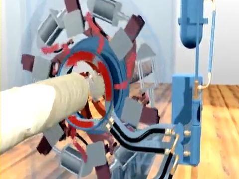 Схема пневматического ротора Air Seal