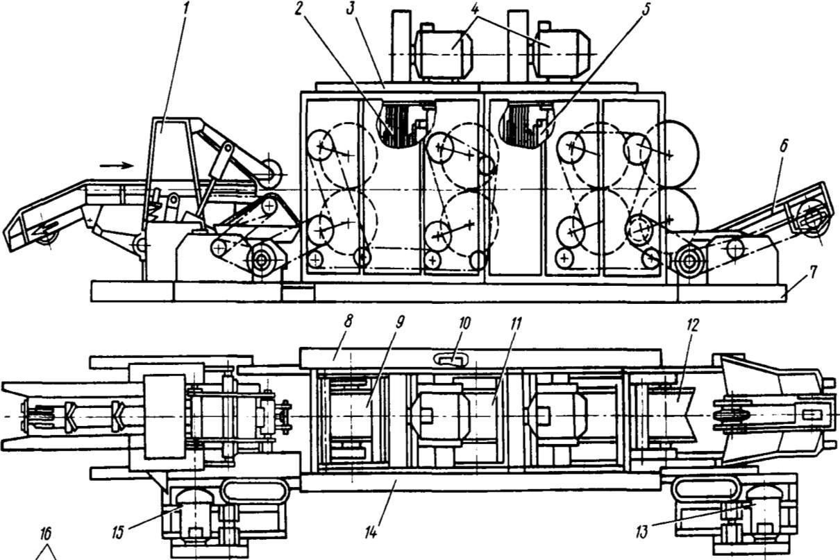 Схема станка 2ОК80-1