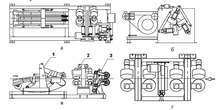 Схема станка Cambio