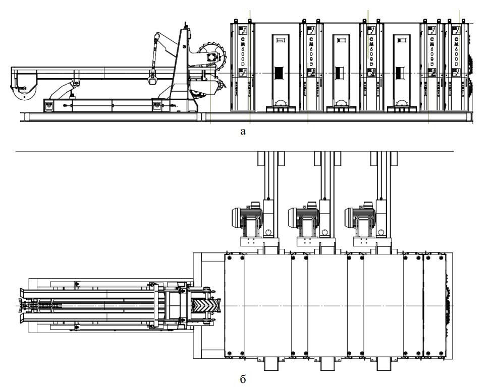 Схема станка CamShift