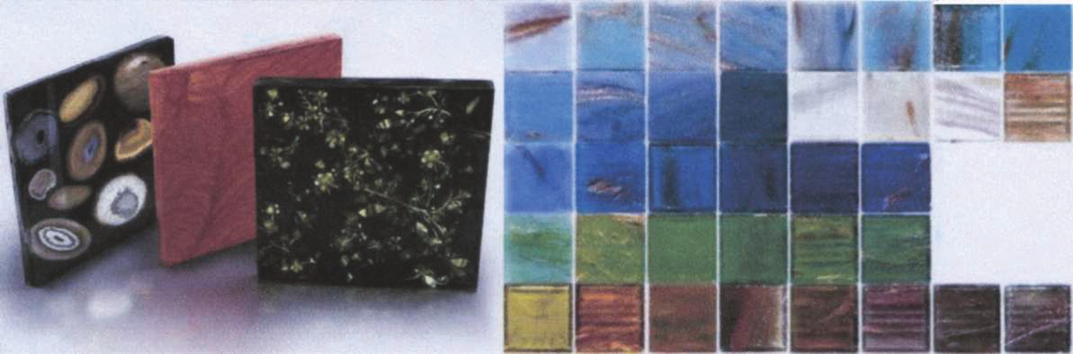 Стеклянная ковровая мозаика